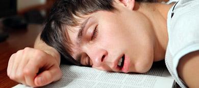 teen snoring