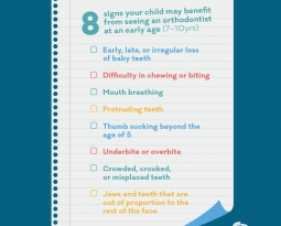 How to decide when your child needs to see an Orthodontist